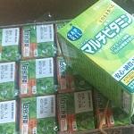 肌の健康のため野菜ジュースとマルチビタミンを定期購入し始めました